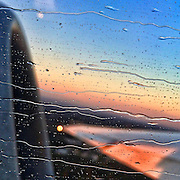 On takeoff from Gainesville Regional Airport, iPhoneography 7:21:38 AM (Photo @ Andy Manis)