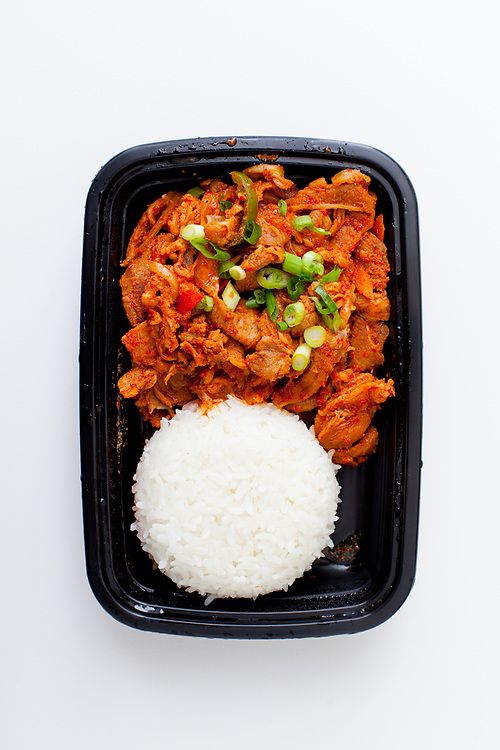 Spicy Pork from Cafe Manna ($7.60)
