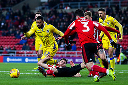 Alex Jakubiak of Bristol Rovers goes past Jack Baldwin of Sunderland - Mandatory by-line: Robbie Stephenson/JMP - 15/12/2018 - FOOTBALL - Stadium of Light - Sunderland, England - Sunderland v Bristol Rovers - Sky Bet League One