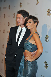 WAYNE BRIDGE and FRANKIE SANDFORD at a party hosted by Roberto Cavalli to celebrate his new Boutique's opening at 22 Sloane Street, London followed by a party at Battersea Power Station, London SW8 on 17th September 2011.