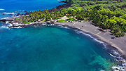 Honomalino Beach, Milolii, Big Island of Hawaii, Hawaii