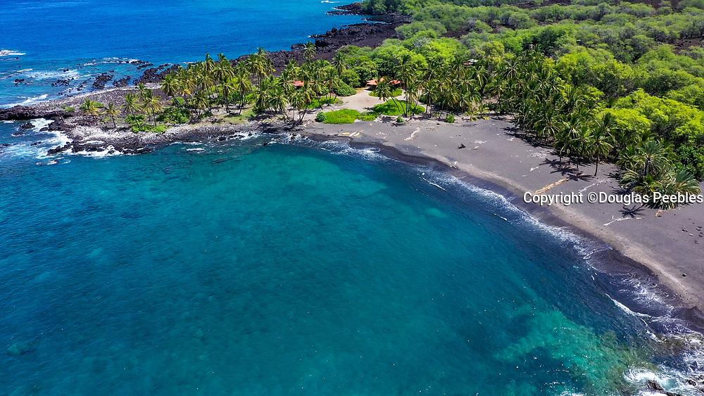 Honomalino Beach, Milolii, Big Island of Hawaii, Hawaii