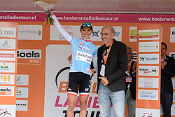 Stage winner, Kasia Niewiadoma keeps the youth jersey at the 119 km Stage 6 of the Boels Ladies Tour 2016 on 4th September 2016 from Bunde to Valkenburg, Netherlands. (Photo by Sean Robinson/Velofocus).