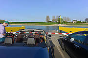 Nederland, Pannerden, 1-4-2014Het veer over het Pannerdensch kanaal.Foto: Flip Franssen/Hollandse Hoogte
