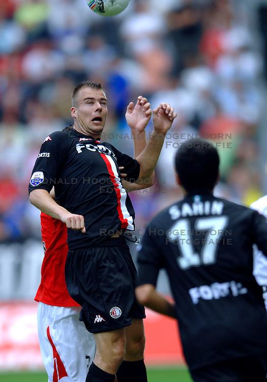 19-08-2007 VOETBAL: UTRECHT - FEYENOORD: UTRECHT<br /> Feyenoord wint met 3-0 in de Galgenwaard / Danny <br /> Buijs<br /> &copy;2007-WWW.FOTOHOOGENDOORN.NL