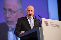 12 NOV 2012, BERLIN/GERMANY:<br /> Ulrich Silberbach, Vorsitzender der Gewerkschaft Komba, dbb Gewerkschaftstag, Estrell Convention Center<br /> IMAGE: 20121112-01-284
