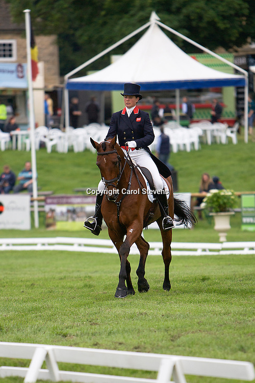 Piggy French riding Kiltealy Brief<br /> Equi-Trek Bramham International Horse Trials  CIC*** Dressage