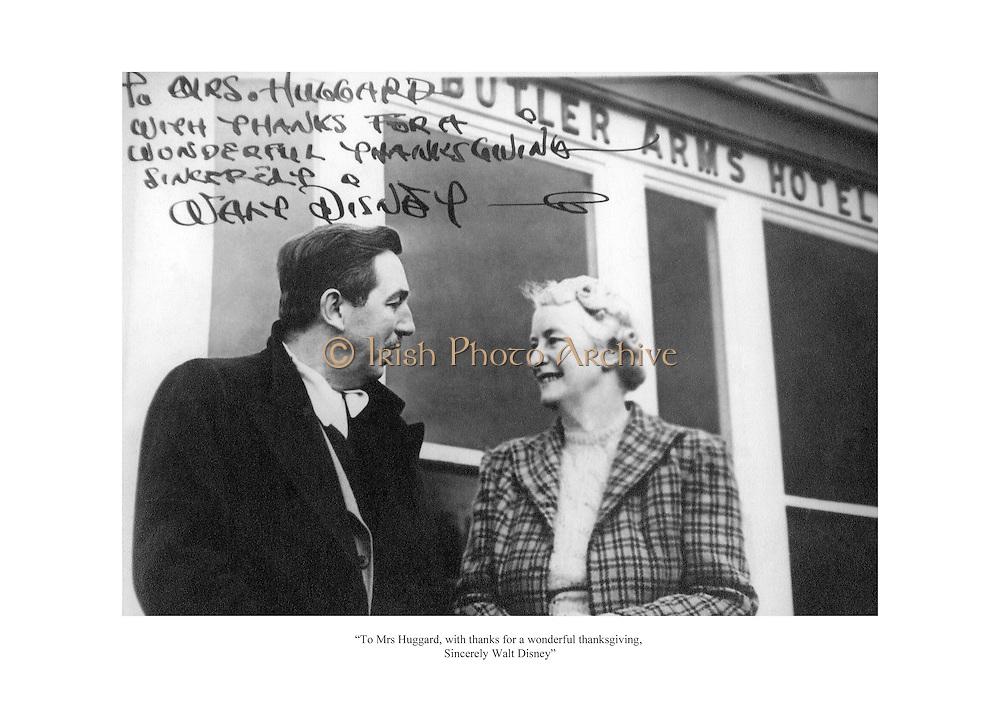 signed Walt Disney for wonderful thanksgiving