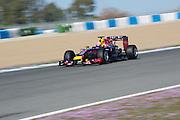 Circuito de Jerez, Spain : Formula One Pre-season Testing 2014. Daniel Ricciardo (AUS), Red Bull-Renault
