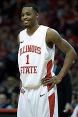 Tyler Brown Illinois State Redbird Basketball Photos