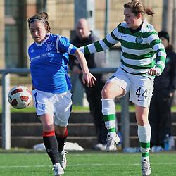 Rangers v Celtic | Scottish Women's Premier League | 18 March 2012