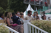 Dixie Chassay and Tom Hollander, Cartier International Polo. Guards Polo Club. Windsor Great Park. 30 July 2006. ONE TIME USE ONLY - DO NOT ARCHIVE  © Copyright Photograph by Dafydd Jones 66 Stockwell Park Rd. London SW9 0DA Tel 020 7733 0108 www.dafjones.com
