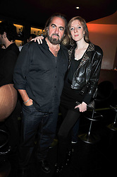 Annette Felder and Arthur Baker at a reception following the screening of the film '44 Inch Chest' part of the 2009 BFI London Film Festival, held at Maddox, 3-5 Mill Street, London on 17th October 2009.