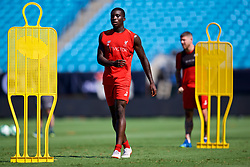 CHARLOTTE, USA - Saturday, July 21, 2018: Liverpool's Sheyi Ojo during a training session at the Bank of America Stadium ahead of a preseason International Champions Cup match between Borussia Dortmund and Liverpool FC. (Pic by David Rawcliffe/Propaganda)