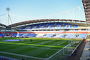 The Macron Stadium before the Sky Bet Championship match between Bolton Wanderers and Charlton Athletic at the Macron Stadium, Bolton, England on 19 April 2016. Photo by John Marfleet.