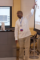 Sree Sreenivasan leads one of his popular workshops on new and social media