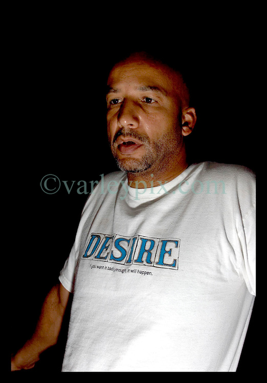 2nd Sept, 2005. Mayor Ray Nagin addresses the media at the Hyatt Hotel in New Orleans after a long day meeting with the President.
