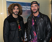 2010, January 20. Pathe ArenA, Amsterdam, the Netherlands. Adil el Arbi and Bilall Fallah at the dutch premiere of Bad Boys For Life.