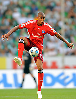 Fotball<br /> Tyskland<br /> Foto: Witters/Digitalsport<br /> NORWAY ONLY<br /> <br /> 23.08.2009<br /> <br /> Jerome Boateng HSV<br /> <br /> Bundesliga VfL Wolfsburg - Hamburger SV