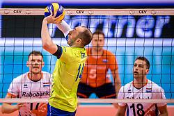 20-05-2018 NED: Netherlands - Slovenia, Doetinchem<br /> First match Golden European League / Ziga Stern #14 of Slovenia