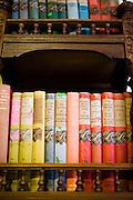Clove Hall bookshelves.