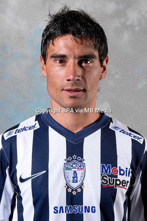 Mexico League - BBVA Bancomer MX 2014-2015 -<br /> Tuzos - Club de Futbol Pachuca / Mexico - <br /> Gustavo Matias Alustiza