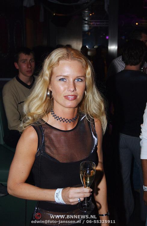 Verjaardag Sonja Silva, modellen