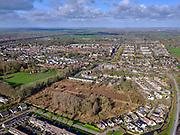 Nederland, Utrecht, Maarssen, 25-02-2020; Maarssen-Dorp met park Vechtenstein, gezien naar Amsterdam-Rijnkanaal.<br /> Village of Maarssen.<br /> <br /> luchtfoto (toeslag op standard tarieven);<br /> aerial photo (additional fee required)<br /> copyright © 2020 foto/photo Siebe Swart