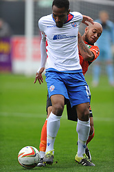 NABIL SHARIFF RUSHDEN &amp; DIAMONDS, AFC Rushden &amp; Diamonds v Kidsgrove Athletic FA Challenge Trophy, Hayden Road Rushden Saturday 7th October 2017<br /> Score 1-3 Photo:Mike Capps
