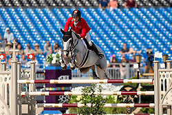 Fuchs Martin, SUI, Clooney<br /> World Equestrian Games - Tryon 2018<br /> © Hippo Foto - Dirk Caremans<br /> 21/09/2018