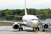 Tijdelijk regeringsvliegtuig, een Boeing 737