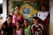 Codo_MA, Brasil...Retrato de adolescentes da comunidade de Nova Jerusalem...Teenagers portrait of Nova Jerusalem community...Foto: LEO DRUMOND /  NITRO