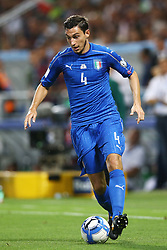 September 5, 2017 - Reggio Emilia, Italy - Matteo Darmian of Italy during the FIFA World Cup 2018 qualification football match between Italy and Israel at Mapei Stadium in Reggio Emilia on September 5, 2017. (Credit Image: © Matteo Ciambelli/NurPhoto via ZUMA Press)