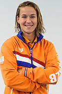 08-12-2015: Waterpolo: Teampresentatie: Oranje Waterpolodames: Zeist<br /> <br /> Nomi Stomphorst<br /> <br /> Foto: Gertjan Kooij