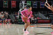 February 11, 2018: Savannah Wilkinson #31 of Florida State in action during the NCAA basketball game between the Miami Hurricanes and the Florida State Seminoles in Coral Gables, Florida. The Seminoles defeated the 'Canes 91-71.