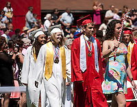 Laconia High School graduation  June 9, 2012