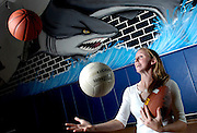 5/2/07 -- RIVERVIEW -- Riverview's Michelle Trugillo is the 2007 Tampa Tribune female Athlete of the Year, juggling basketball, volleyball, track and field and flag football into a scholarship at the University of Central Florida.