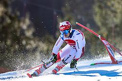 02.03.2020, Hannes Trinkl Weltcupstrecke, Hinterstoder, AUT, FIS Weltcup Ski Alpin, Riesenslalom, Herren, 1. Lauf, im Bild Loic Meillard (SUI) // Loic Meillard of Switzerland in action during 1st run of men's Giant Slalom of FIS ski alpine world cup at the Hannes Trinkl Weltcupstrecke in Hinterstoder, Austria on 2020/03/02. EXPA Pictures © 2020, PhotoCredit: EXPA/ Johann Groder