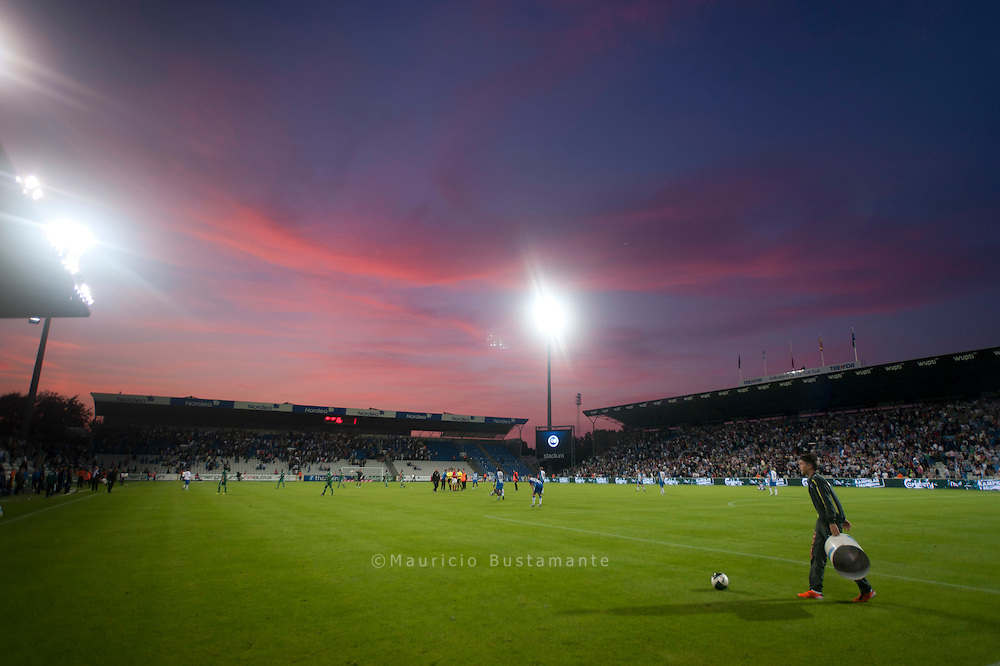 Odense BK 1-1 Panathinaikos FC.  Tore Reginiussen's equaliser in added time denied Panathinaikos, last season's group stage participants, a first-leg victory.