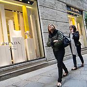 Il FuoriSalone 2010 nelle vie di centrali Milano.<br /> Via della Spiga
