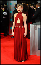 Imogen Poots arrives for the EE BRITISH ACADEMY FILM AWARDS 2014 (BAFTA) at the The Royal Opera House in Covent Garden . London, United Kingdom. Sunday, 16th February 2014. Picture by Andrew Parsons / i-Images