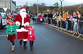 Santa arriving at Rosbercon