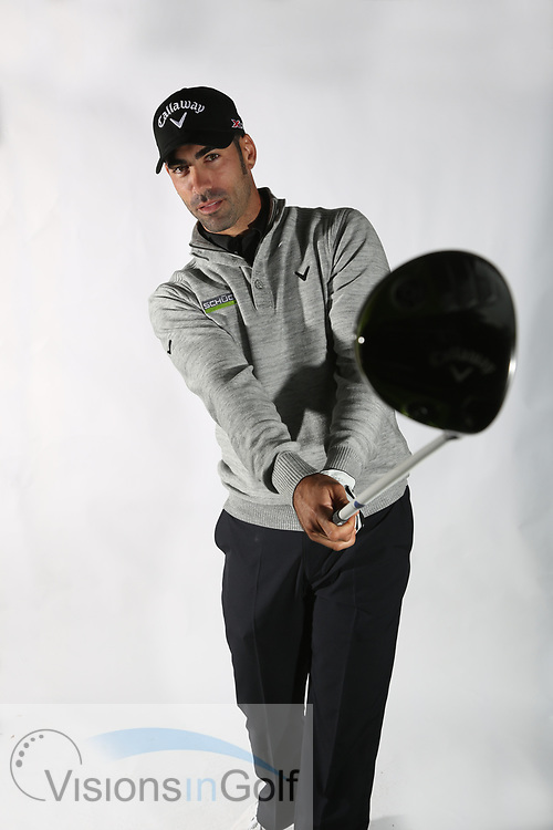 Alvaro Quiros<br /> Portrait<br /> 2013<br /> <br /> Golf Pictures Credit by: Mark Newcombe / visionsingolf.com