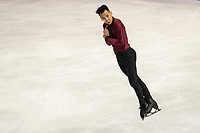 KELOWNA, BC - OCTOBER 26:  Canadian figure skater Nam Nguyen competes during the mens long program at Skate Canada International held at Prospera Place on October 24, 2019 in Kelowna, Canada. (Photo by Marissa Baecker/Shoot the Breeze)