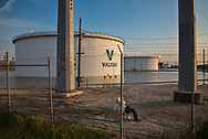 Floodwaters remained in Port Arthur days after Hurricane Harvey's rain stopped. Standing water af refineries caused some to shut down including Valero's refinery in Port Arthur.