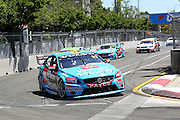 Scott McLaughlin (Wilson Security Volvo). Coates Hire Sydney 500. V8 Supercars Championship. Homebush Street Circuit, NSW. 5-6 Devember 2015. Photo: Clay Cross / photosport.nz