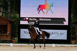 Maresova Barbora (CZE) - Lindgren<br /> FEI European Dressage Championship Juniors - Bern 2012<br /> © Hippo Foto - Leanjo de Koster