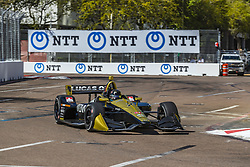 March 8, 2019 - St. Petersburg, Florida, U.S. - MARCUS ERICSSON (7) of Sweeden  goes through the turns during practice for the Firestone Grand Prix of St. Petersburg at Temporary Waterfront Street Course in St. Petersburg, Florida. (Credit Image: © Walter G Arce Sr Asp Inc/ASP)