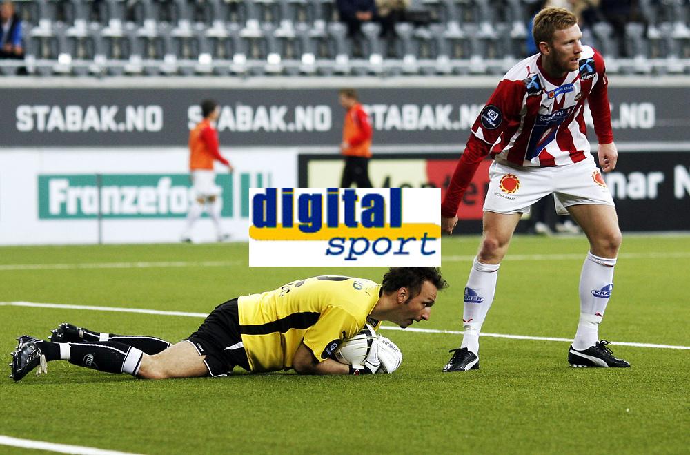 Fotball , 5. april 2010 , Tippeligaen , Eliteserien , <br /> Stab&aelig;k - Troms&oslash; 0-1<br /> <br /> Fredrik Bj&ouml;rck , TIL<br /> Sead Ramovic , TIL