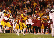 25 OCTOBER 2008: Iowa State defensive end Kurtis Taylor (47) in the first half of an NCAA college football game between Iowa State and Texas A&M, at Jack Trice Stadium in Ames, Iowa on Saturday Oct. 25, 2008. Texas A&M beat Iowa State 49-35.